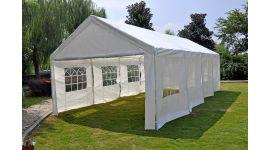 Pure Garden & Living carpa para fiestas con paredes laterales de 4x8 metros blanca