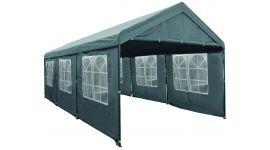 Lujosa carpa para fiestas de 3x6 metros gris con paredes laterales Pure Garden & Living